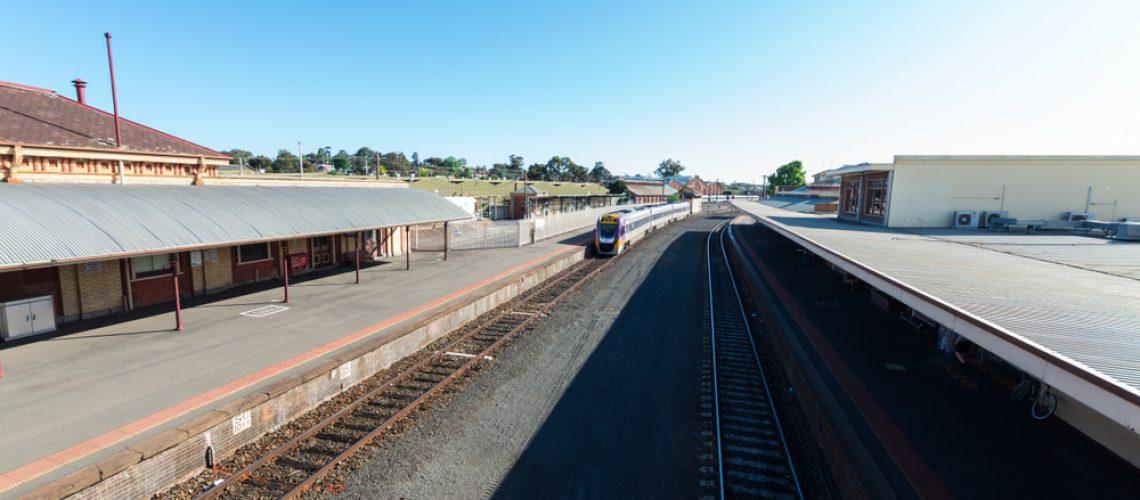 Bendigo,,Australia,-,October,28,,2018:,Bendigo,Railway,Station,Opened