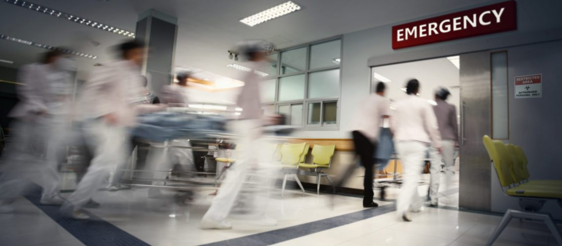 Blurry,Movement,Of,Nurses,And,Doctors,Working,In,The,Hospital