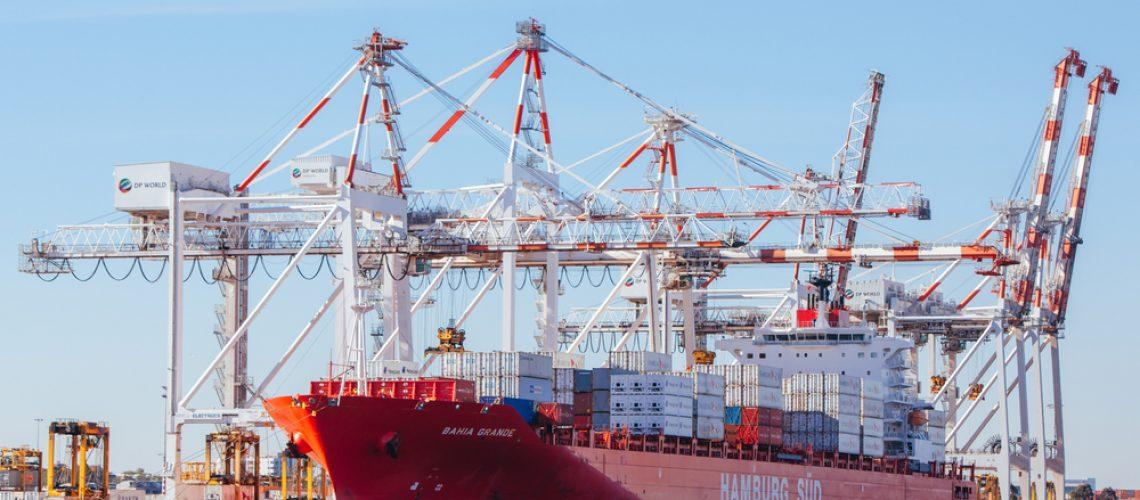 Melbourne,,Australia,-,December,17,2013:,Coode,Island,Shipping,Port